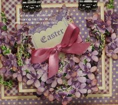 Aspiring to Creativity: Easter Card #4 - Graphic 45 Sweet Sentiments