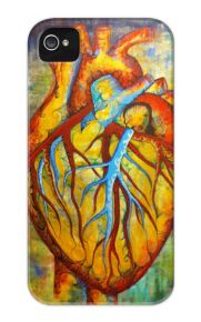 Anatomical Heart by Garnet Griebel - available in #iPhone 4/4s Case and Samsung #Galaxy