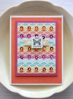 Shellye McDaniel - Hello Sequin Card