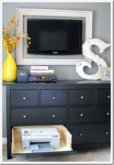 computers, tv frames, big letters, dresser drawers, tvs, bedrooms, picture frames, office decor work diy, home offices