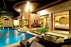 villa, dream pools, dream homes, dream hous, master bedrooms, backyard oasis, backyard pools, contemporary design, backyards