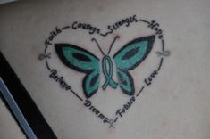Beautiful PCOS tattoo.