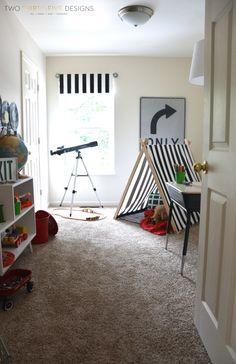 GMC Hidden Treasure Adventure Play Room Reveal - Two Thirty-Five Designs