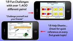 Written by an experienced team of teachers to meet the needs of all learning styles with fresh updated math strategies. #education http://apptutorapps.com/?apps=apptutor-grade-3-math-common-core-interactive-workbook
