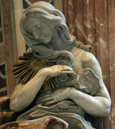 "Bernini, Tomb of Alexander VII, ""Truth"", St. Peters"