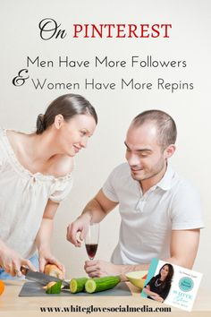 On Pinterest, Men Have More Followers And Women Have More Repins
