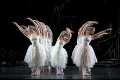 Artists of The Royal Ballet and Royal Ballet School in Swan Lake.