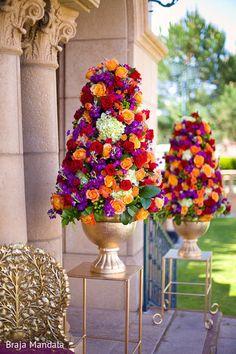 Floral  Decor http://maharaniweddings.com/gallery/photo/22796