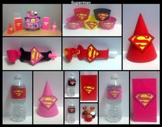 Superhero Party Package  Superman & Batman Theme by ZoleesBoutique, $2.50