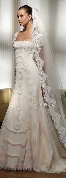 Short Sleeves Junoesque Train wedding dress