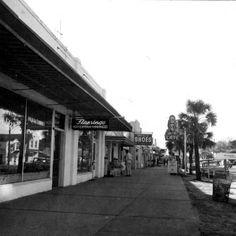 Florida Memory - Main Street shops - Fort Walton Beach, Florida