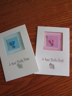 Baby cards.