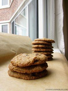 Oatmeal Raisin Flax Cookies