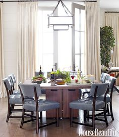 Dining Room Decorating - Dining Room Decor - House Beautiful