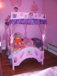 Dora bedroom ideas on pinterest bedroom decorating for Dora the explorer bedroom ideas