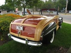 convertible Woodie / Lincoln Town & Country