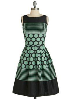 Dessert Tray Dress, #ModCloth