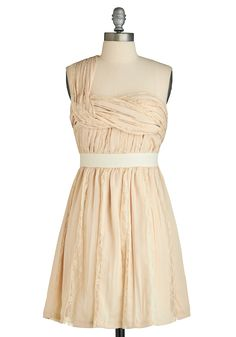 Creme/neutral bridesmaids dress option