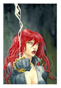 Avengers Art: Black Widow