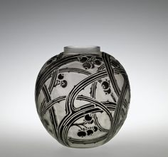 Baies (Bays) by Rene #Lalique, designed in 1924 | Corning Museum of #Glass