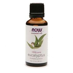 NOW Essential Oils Eucalyptus Oil 100% Pure