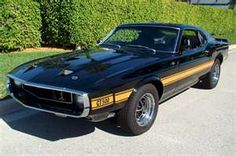 1969 Mustang Shelby GT 500