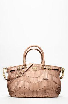 handbag, gather leather, coach bags, style, coach purses