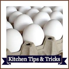 Really good tips that will save you oodles of time in the kitchen
