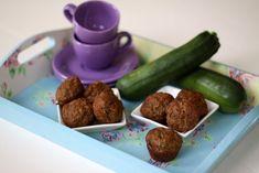 low-sugar zucchini spice mini muffins
