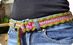 How to crochet a belt