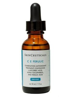 Best Serum: SkinCeuticals C E Ferulic SkinCeuticals CE Ferulic neutralizes free radicals and stimulates collagen production. Our top seller! In stock now at The Estheticians.