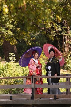 Young couple taking wedding photos in Hama-rikyu Gardens in Tokyo