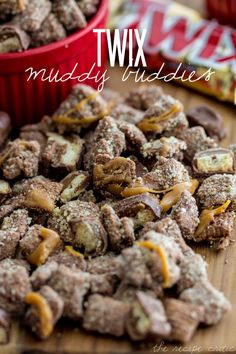 Twix Muddy Buddies | The Recipe Critic