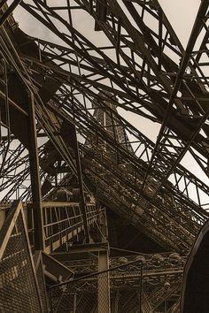 Eiffel Tower unusual view <3