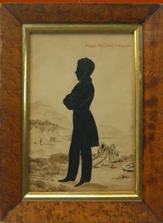 Edouart silhouette, Saratoga NY 1844. From my website
