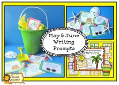 A fun way to add some spark to end of year writing prompts...($)