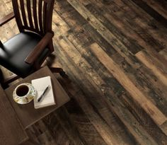 reclaimed barn wood floor. Yes.