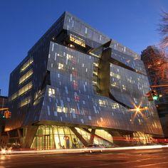 41 Cooper Square. Morphosis ArchitectsCooper Union Square, New York City. Thom Mayne. Morphosis. 2009
