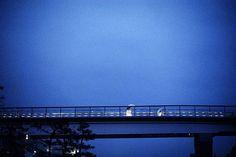 Bridge at Sundown, Tokyo, Japan by Gueorgui Pinkhassov, 1996