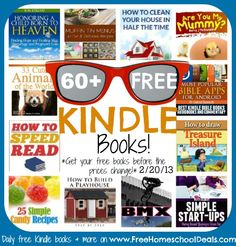 Free Kindle Books: Muffin Tin Menus, Most Popular Bible Apps, Honoring A Child Born To Heaven, How To Clean Your House In Half The Time, + More!