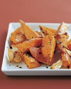 Sweet-Potato Wedges Recipe