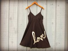 ML Love Upcycled Black Summer Dress// Eco Urban by emmevielle, $65.00