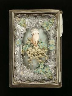 Boxed, multi-layered valentine, [c. 1876-1900]. (C) Museum of London. ID no:  A28549/54