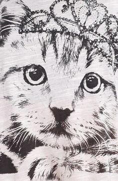 Meow. I'm a princess.