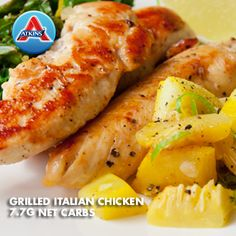 Nothing says summer like chicken and squash on the grill. Italian dressing does double duty as a marinade and a salad dressing. (All Phases)