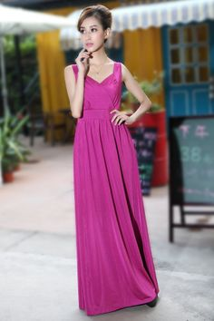 Same dress different pose.  Long Prom Dress Wedding Bridesmaid Dresses Evening by LYDRESS, $35.00