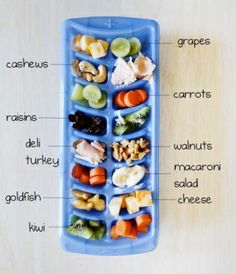 Ice Cube Toddler Snack Tray