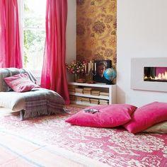 Pink Bohemian Chic