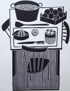 Work by Jan Brewerton titled 'Scent of Seville'