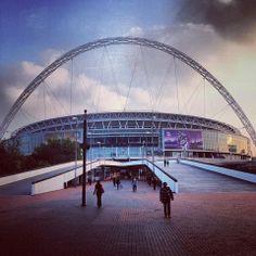 #Wembley #Stadium #sunset #ThreeLions #England #football #WONDERKID #WONDERKIDfilm #homophobia #LGBT